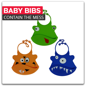 Baby Bibs - Contain The Mess